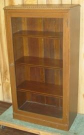 Small Glass Door Bookcase
