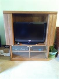 tv cabinet (television is not for sale)