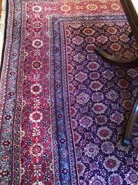 Room size Oriental rug, wool, handmade