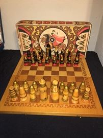 Chess set made In USSR  Bakau
