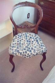 Victorian chair.