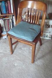 Vintage desk chair.