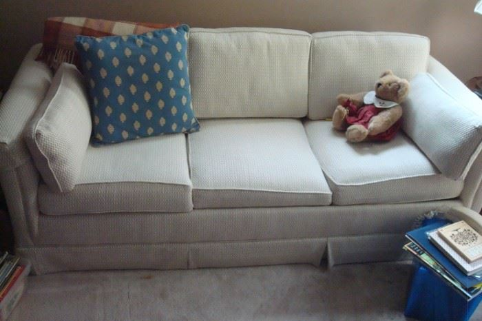 Sleeper sofa.