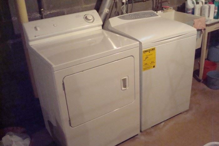 Maytag washer & dryer.