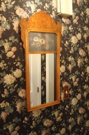 Chippendale style wall mirror.