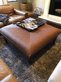 Kreiss coffee table and rug