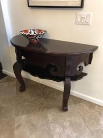 Custom Chinese Wall mount table - gorgeous!