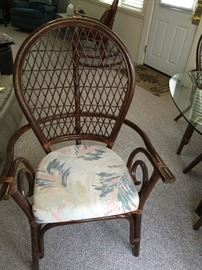 Close up of chair and cushion