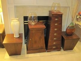 Beautiful Wood Side Tables
