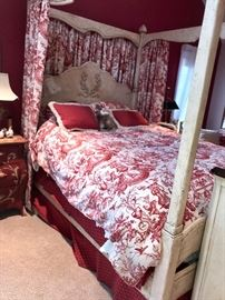 Shabby Chic Four Poster Bed