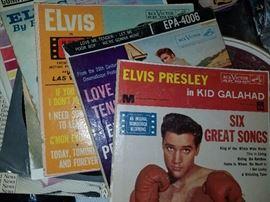 Elvis 45's