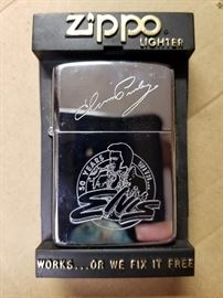 "New Elvis Zippo ""50 years with Elvis"""