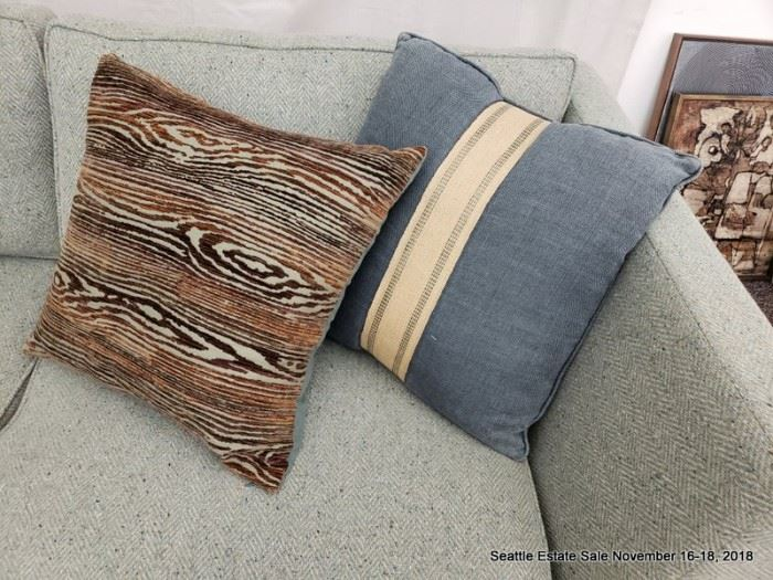 Selection of accent pillows