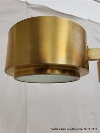 Rare vintage Hans-Agne Jakobsson bronze chandelier.