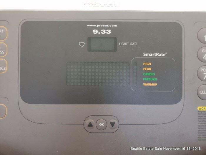 Precor 9.33 Treadmill, like new, low hours.