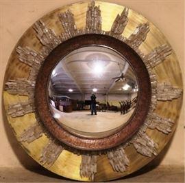 Modern History sunburst mirror