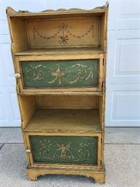 Unique hand painted book case
