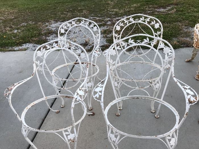 Set of four chair sets