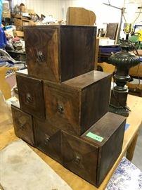 Modern looking wood storage