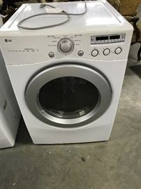 LG washer and dryer 600.00 set works great sold appointment only