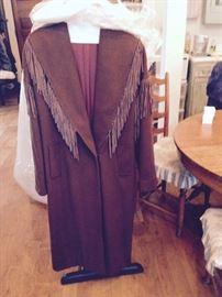 Long Coat with fringe