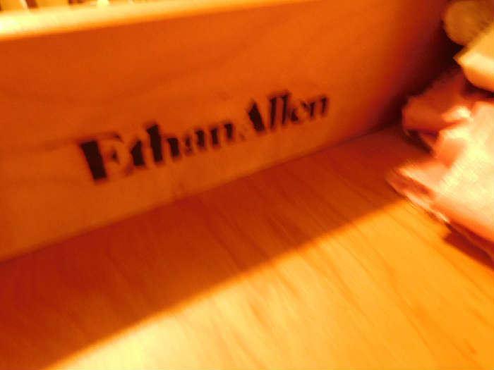 Ethan Allen Tall boy dresser