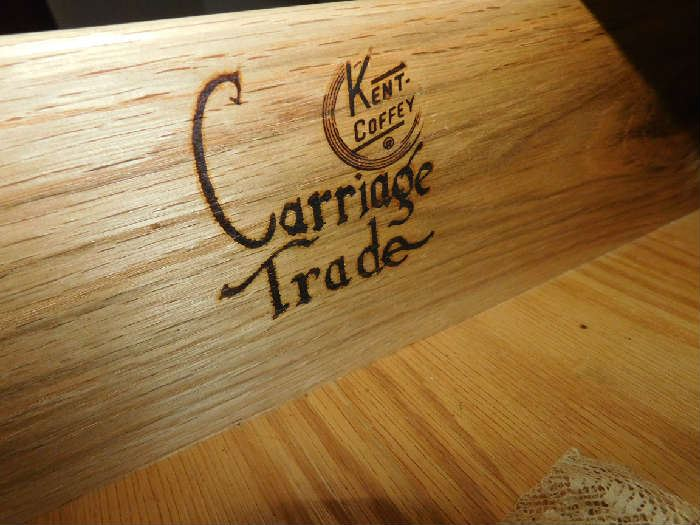 Carriage trade bedroom set