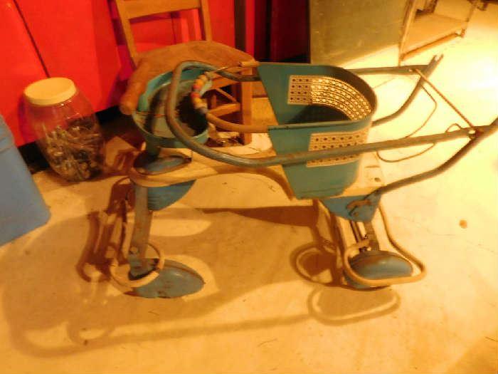 Antique car toy