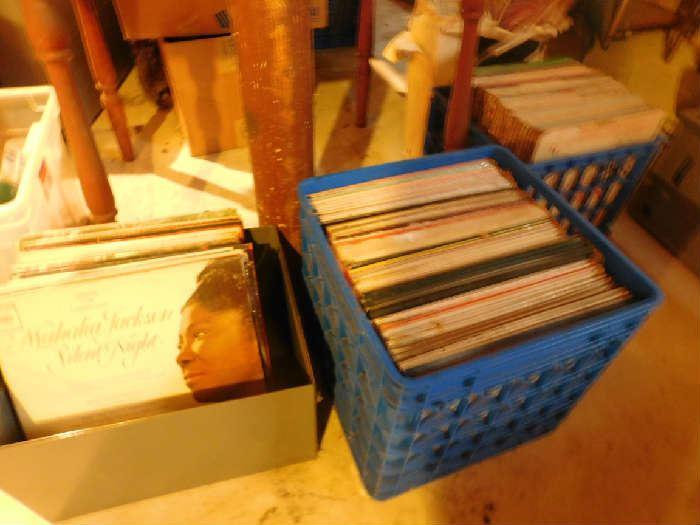 Lots of Vinyl records