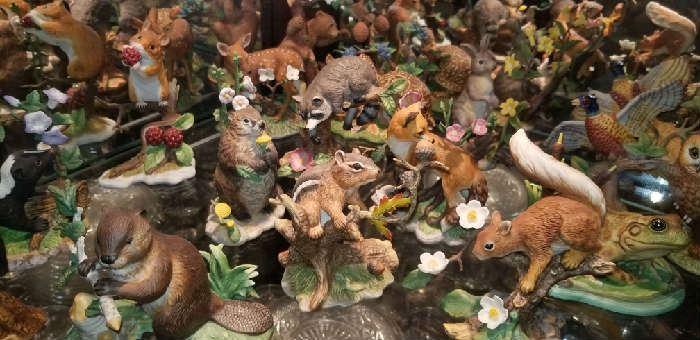 Lenox statues of animals