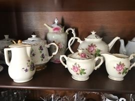 English Tea pots