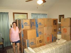 This is NOT a buyout... an OFF-SITE Estate Sale. We are Sales Agents for Linda moving from the Houston Area to New Orleans near her Grandkids! GREAT, Let's help her move!