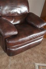 Reclining Leather Occasional Chair