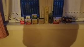 Some of the old tins
