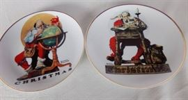 antique Norman Rockwell collector plates