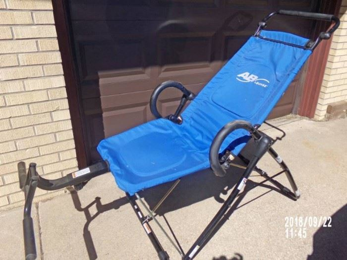 ab lounger used only once