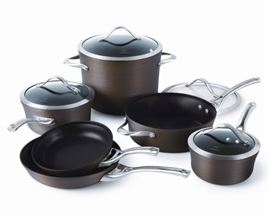 Calphalon Contemporary 10Piece Bronze Anodized Ed ...
