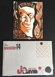 Pearl Jam Ten Club Fan Club Newsletters 13 & 14, rare and out of print.