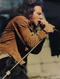Eddie Vedder by legendary rock photographer Don Aters