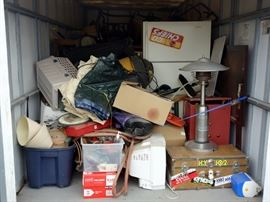 ALL CONTENTS OF 12' x 8' x 8' Storage POD, Picker Paradise Treasure Hunt Storage Wars