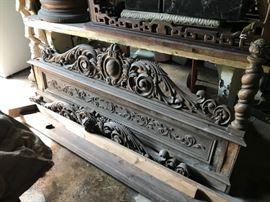 Antique architectural pieces