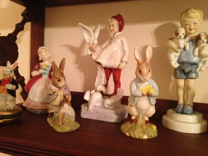 Beatrix Potter's figures from Beswick England