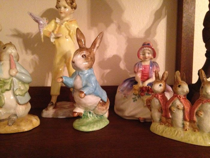 More Beatrix Potter's figures from Beswick England