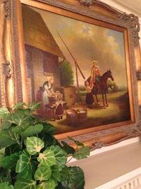Very fine framed art