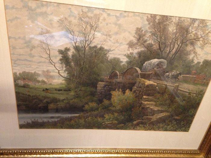 Framed art - country art