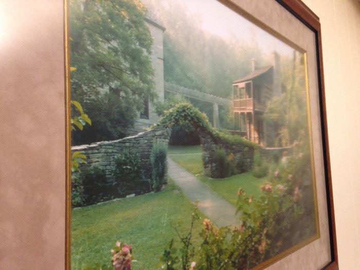 Garden scene by Linhart -2000