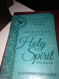 """""""Mornings with the Holy Spirit"""" - great way to start the day!"""
