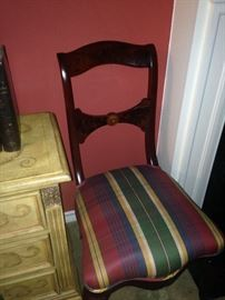 One of four chairs - perfect for the game table