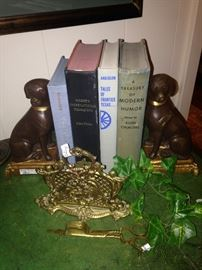 Darling dog bookends