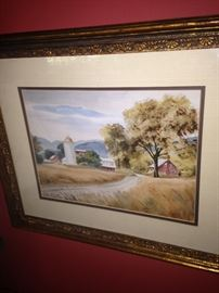 Warm and inviting -country scene art